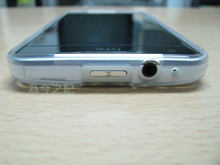手機上方電源鍵及耳機孔